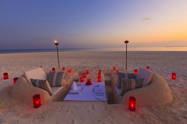 romantik kum oturma grubu